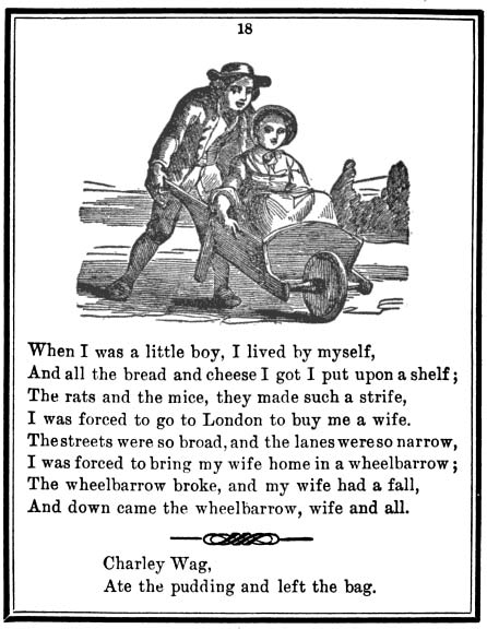 The Only True Mother Goose Melodies. Boston: Munroe & Francis, 1833.