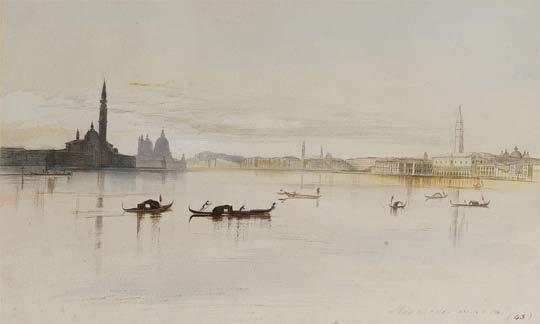 Edward Lear, Venice (1865)