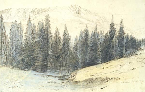 Edward Lear, Monte Libro-Aperto (1883)