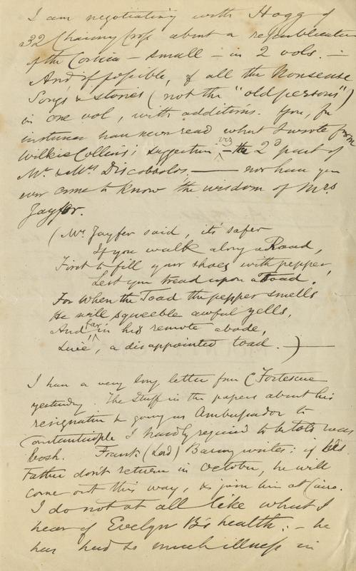 MS letter HAB 1884-09-25 3
