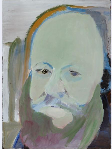 Studie voor Portret van Edward Lear (1985)